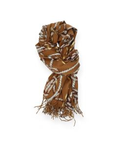 Bruine sjaal
