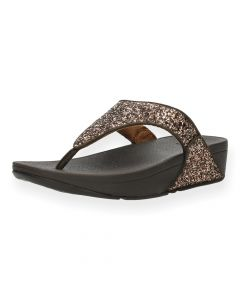 Bronze slippers Lulu