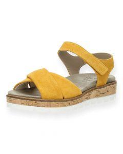 Oker sandalen