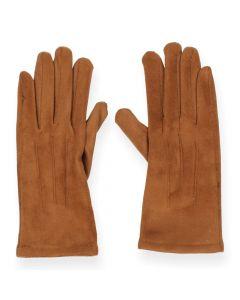 Cognac handschoenen