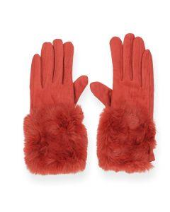 Roestbruine handschoenen