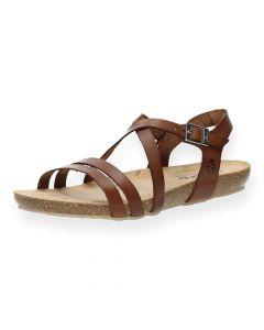 Bruine sandalen Ibiza