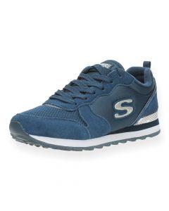 Blauwe sneakers Retros