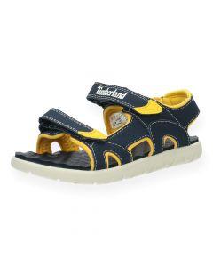 Blauwe sandalen Perkins T