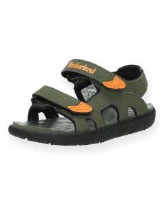 Kaki sandalen Perkins T