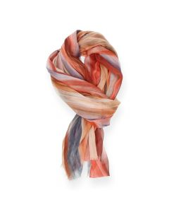Oranje sjaal Streep