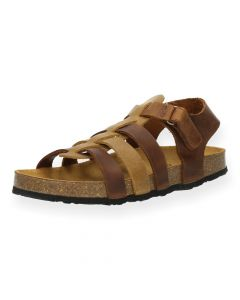 Bruine sandalen Pandi