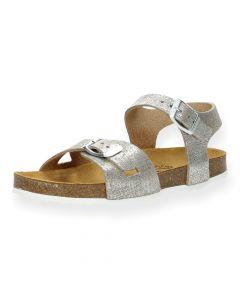 Taupe sandalen Lisa