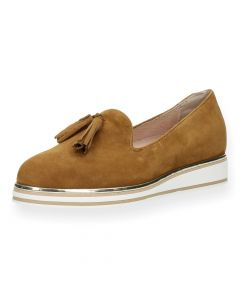 Bruine loafers
