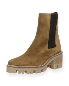 Beige bottines