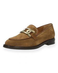 Lichtbruine loafers