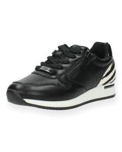 Zwarte sneakers Froukje