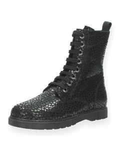 Zwarte bottines Fia