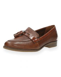 Cognac loafers