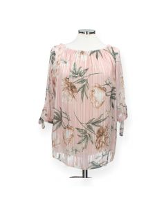 Roze blouse Flower