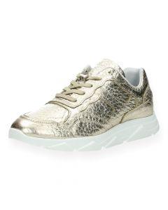 Gouden sneakers Kady