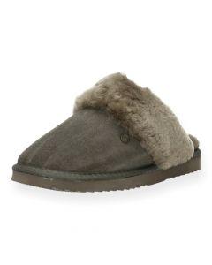 Grijze pantoffels Flurry