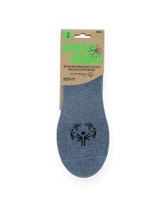 Blauwe kousen Footie Cotton
