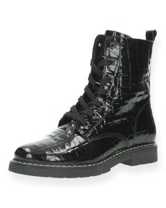Zwarte bottines Hoa