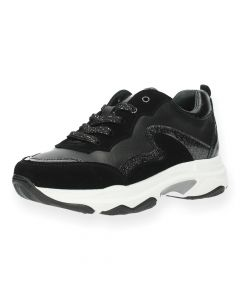 Zwarte sneakers Crispy