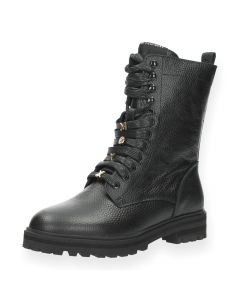 Zwarte bottines Flux