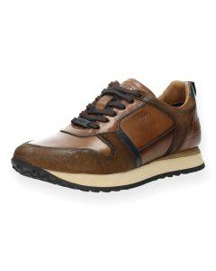Cognac sneakers Fuentes