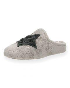 Grijze pantoffels Star