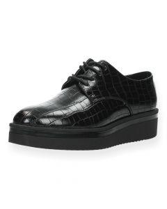 Zwarte veterschoenen Coc