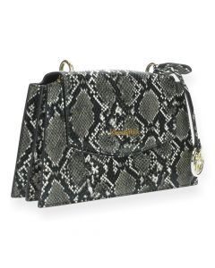 Slangenprint crossbody Laurence