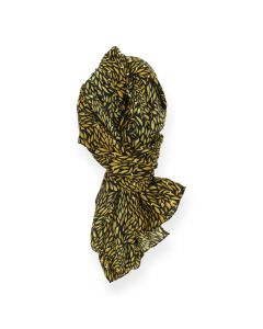 Oker sjaal Gold