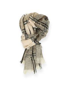 Beige sjaal Multicolour