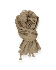 Camel sjaal Trosjes