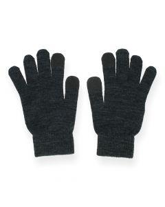 Donkergrijze handschoenen Buddy