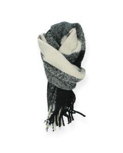 Zwarte sjaal Bea