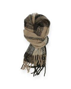 Bruine sjaal Bea