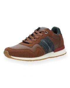 Bruine sneakers Stellar