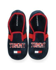 Blauwe pantoffels Loafer