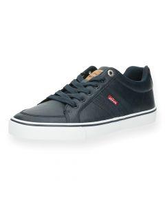 Blauwe sneakers Turner