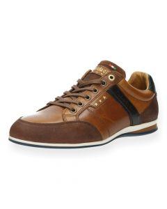Cognac sneakers Roma
