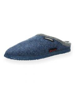 Blauwe pantoffels Dannheim