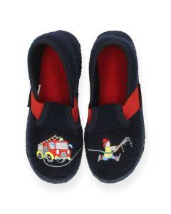 Blauwe pantoffels Trulben