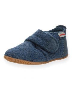 Blauwe pantoffels Oberstaufen