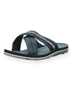 Blauwe slippers Gene