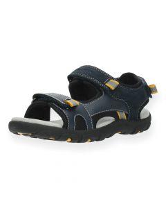 Blauwe sandalen