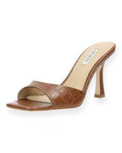 Bruine sandalen Seala