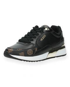 Zwarte sneakers Moxea