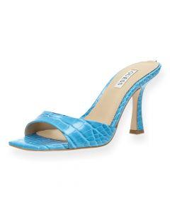 Felblauwe sandalen Seala