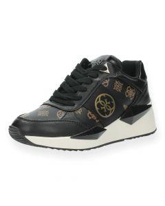 Zwarte sneakers Tesha