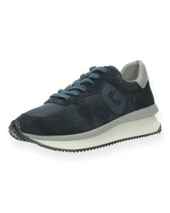 Blauwe sneakers Made
