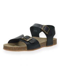 Donkerblauwe sandalen Easy 4